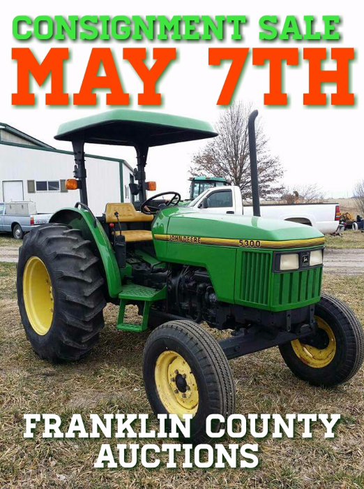 Franklin County Auctions - Kansas - Firewood Hay Farm